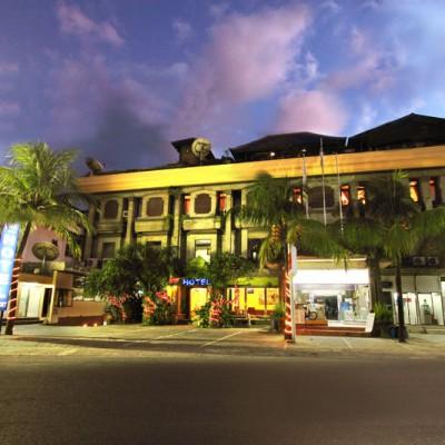 Front Hotel View jimbaran